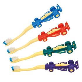 レースカー歯ブラシ