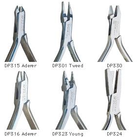 歯科矯正用プライヤ/クラスプフォーミングプライヤー