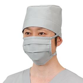 OR男子手術帽/マスク