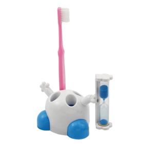 砂時計付歯ブラシスタンド