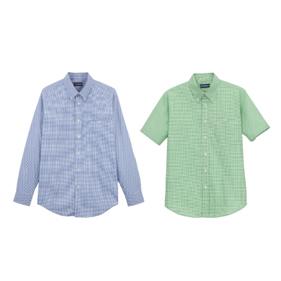ミニチェックシャツ