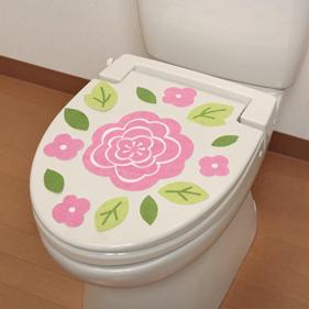 トイレの消臭シート  ローズ