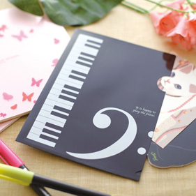 Piano Line クリアファイル