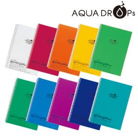 AQUA DROPs ツイストリング・ノート(セミB5)