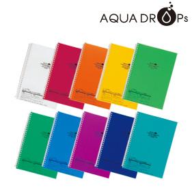 AQUA DROPs ツイストリング・ノート(A5)