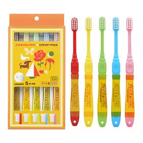 クレパス風歯ブラシ