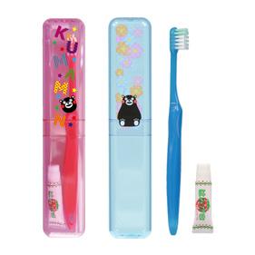 くまモン ケース付歯ブラシ こども用