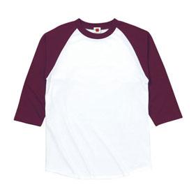 七分袖ラグランTシャツ