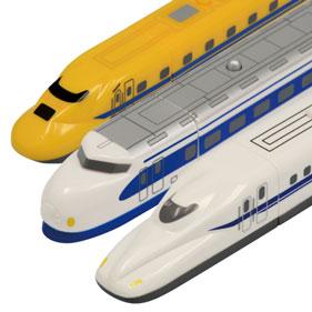 電車歯ブラシ