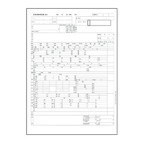 【2014年版】歯科レセプト用紙(1000枚)