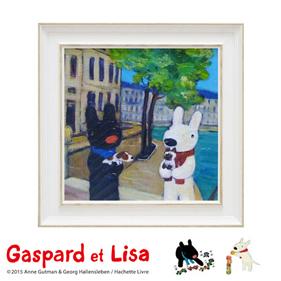 リサとガスパール アートフレーム