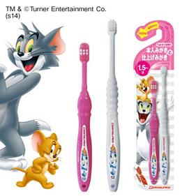 トムとジェリー歯ブラシ 本人みがきと仕上げみがき