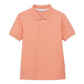 和風色ポロシャツ