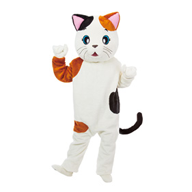 アニマル着ぐるみ ネコのミケちゃん