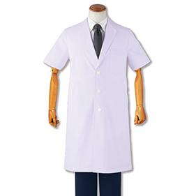 メンズ診察衣シングル半袖 1532PO