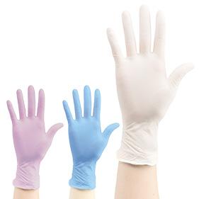 エクセレント ニトリル手袋 パウダーフリー(100枚入)