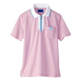 TioTioジップポロシャツ