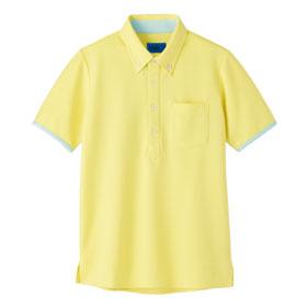 クラビオン配色ポロシャツ