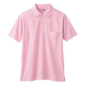 9006 ハニカムメッシュ半袖ポロシャツ男女兼用