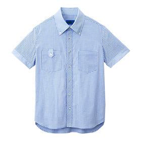 ギンガムチェックシャツ(半袖)