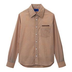ギンガムチェックシャツ(長袖)