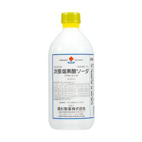 次亜塩素酸ソーダ6%/500ml