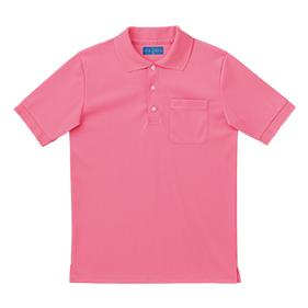 綿混カラーポロシャツ