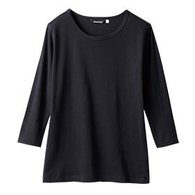 八分袖Tシャツ