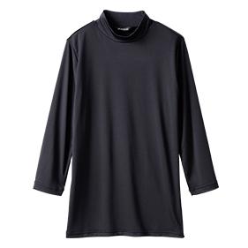 モックネックシャツ