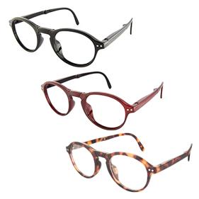 フォールディングコンピューターグラス[ブルーライトカット+老眼鏡+折りたたみ眼鏡]