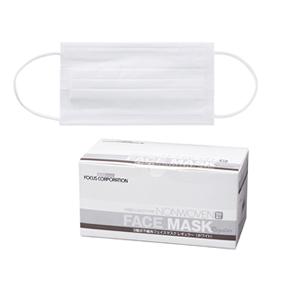3層式不織布フェイスマスク レギュラー