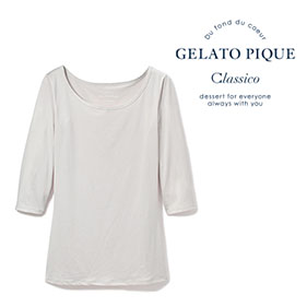 ジェラート ピケ 七分袖Tシャツ 616